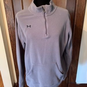 Under armour fitted fleas pull over sweater